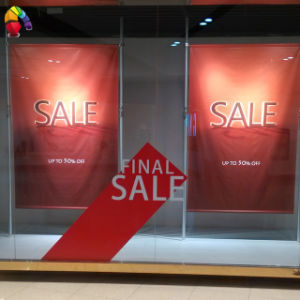 Retail Advertising Indoor Hanging Fabric Banner pictures & photos