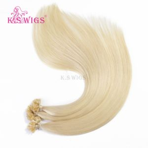 New Arrival Keratin Hair Extension Brazilian Remy Human Hair pictures & photos