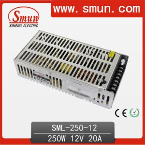 Smun 250W 12VDC 20A Switching Power Supply 2 Years Warranty pictures & photos