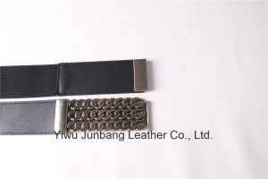 Women′s fashion Elastic PU Leather Belt--Jbe1636 pictures & photos