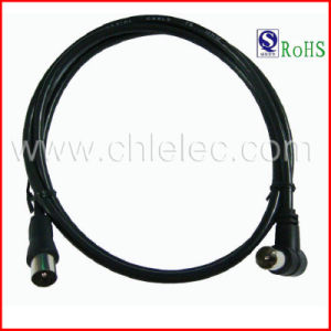 OEM Hot Sale High Quality High Speed 9.5mm 3c2V Angle TV a/V Audio Video Cable with RoHS (SY075) pictures & photos