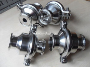 Stainless Steel Hygienic Tri Clamped Check Valve pictures & photos