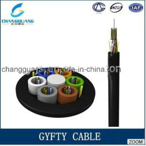 China Manufacturer Stranded Loose Tube Non-Metallic Strength Member Non-Armored Optical Fiber Cable GYFTY Fiber Optic Cable Price