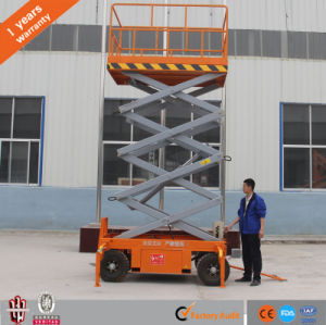 China Factory Supply Hydraulic Mobile Lift Small Electric Scissor Lift pictures & photos