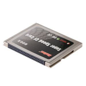 CF Card with 600X MLC Nand Flash