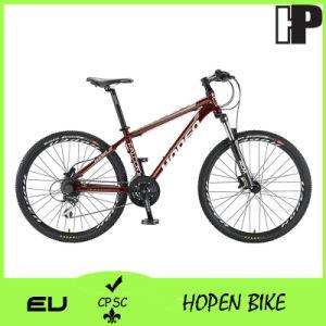 "Hot Sale 26"" 24sp/Dark Red Aluminum Mountain Bike pictures & photos"