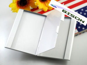 Two Layer Metal Business Card Holder Card Case pictures & photos