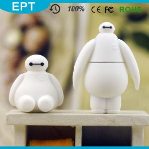 White Cartoon Big Baymax Shaped PVC USB Flash Drive (TG131) pictures & photos
