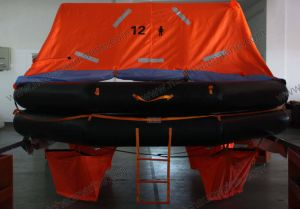 Marine Ec Approved a Pack Inflatable Life Raft pictures & photos