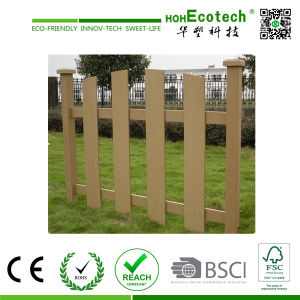 Outdoor Eco Friendly Nice Looking Garden Using WPC Fence pictures & photos