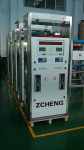 Zcheng Fuel Dispenser with 4 Nozzles pictures & photos