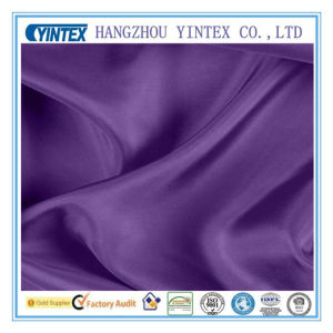 China Supplier Home Textile Purple Mulberry Silk Fabric pictures & photos