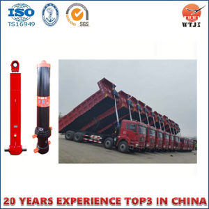 Multi-Stage Telescopic Hydraulic Cylinders for Dump Truck pictures & photos