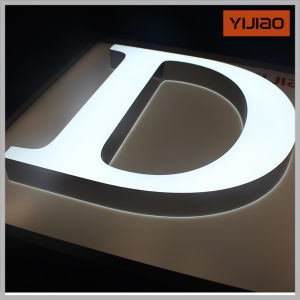 Yi Jiao Eye-Catching Effect Face Lighting Acryl Letter pictures & photos