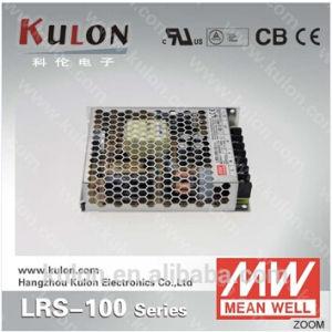 Meanwell Power Supply Lrs-100 Variable Switching Mode Power Supply 5V 12V 15V 24V 36V 48V