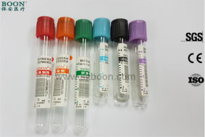 China Manufacturer Different Colors Blood Collection Tube pictures & photos