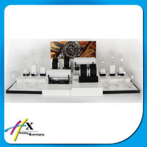 Custom Wholesale Wooden Metal Watch Window Display, Watch Case Display pictures & photos