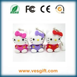 Premium Gift USB Pendrive Hello Kitty Design 100% Cutomized pictures & photos