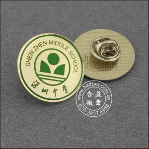 Thumb Plated Metal Badge, Irregular Shape Pin (GZHY-CY-028) pictures & photos