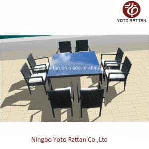 Outdoor Furniture Dining Set for Garden with Aluminum SGS (SD6215D) pictures & photos