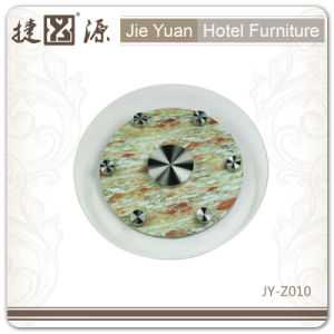 Duarable Crystal Hotel 4 Inch Lazy Susan (JY-Z010) pictures & photos