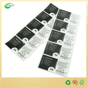 Luxury Adhesive Sticker with Black&White Color (CKT-LA-447) pictures & photos