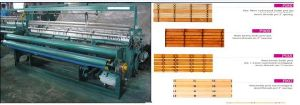 Plastic Slat Bamboo Curtain Blind Making Weaving Machine Manufacturing Line Plant