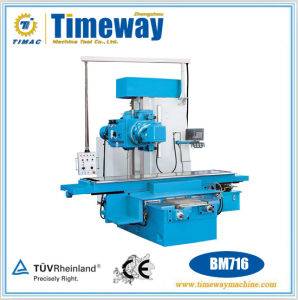 Bed Type Universal Swivel Head Milling Machine with Horizontal Milling pictures & photos