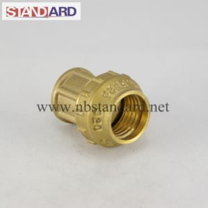 Brass Fitting of PE Female Coupling pictures & photos