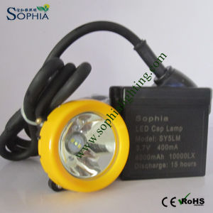 6000mAh LED Head Light, LED Headlamp with Li-ion Battery