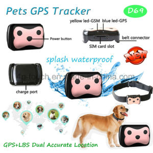 Newest Waterproof Pets GPS Tracker with Two-Way Communication D69 pictures & photos