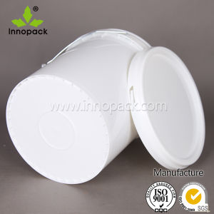 15L Plastic Drum with Lid for Oil and Water Plastic Pail with Cover pictures & photos