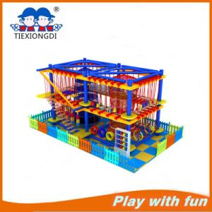 2016 Kids High Rope Courses of Indoor Playground pictures & photos