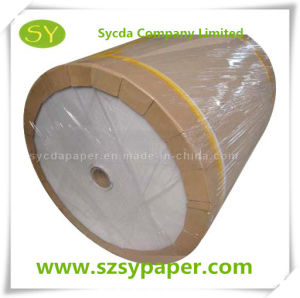 Hot Sale Thermal Paper Jumbo Rolls in Stock 40GSM-80GSM pictures & photos