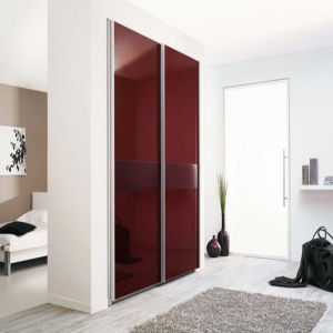 High Glossy Bedroom Wardrobe (ZH-089) pictures & photos