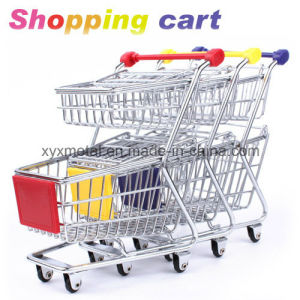 Super Market Wholesale Steel Shopping Cart Trolley pictures & photos