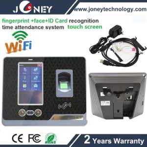 WiFi Touch Screen Free Software Fingerprint Face Recognition Time Attendance F501 pictures & photos
