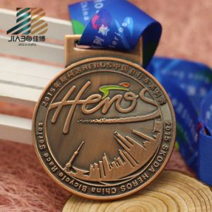 China Factory Custom Metal Sports Souvenir Medals with Ribbon pictures & photos