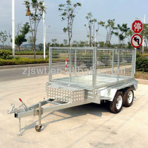 7X5 Light Duty Fully Welded Box Trailer (SWT-BT75-L) pictures & photos