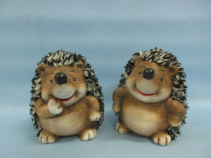 Hedgehog Shape Ceramic Crafts (LOE2530-C12) pictures & photos
