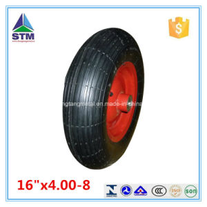 4.00-8 Rubber Pneumatic Wheel for Wheelbarrow Wb6400 pictures & photos