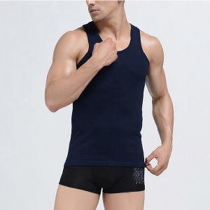 Customize Personal Brand Cheap Fashion Seamless Vest for Men pictures & photos