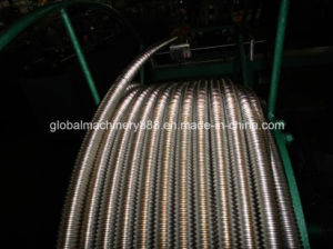 Annular Flexible Metal Pipe Making Machine for Gas Hose pictures & photos