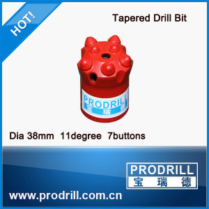 Q8-33-12 22-65mm Tapered Button Drill Bit pictures & photos
