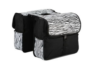 Bicycle Double Rear Pannier Bag for Bike (HBG-028) pictures & photos