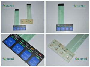 Backlighting 2 Circuit Layers Membrane Switch (MIC-0199) pictures & photos