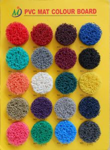 Anti-Slip Rubber Sheet, PVC Coil Mat, Rubber Mat with Foam Backing, Alll Kinds of Color pictures & photos
