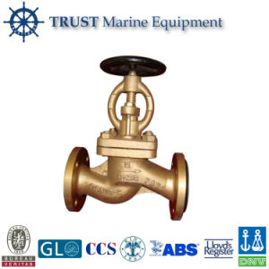 Marine Bronze Flanged Stop Globe Valves pictures & photos