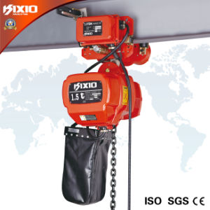 1.5ton Electric Chain Hoist for Electric Trolley Type pictures & photos
