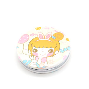 Beautiful Sided Cute Cosmetic Pocket Mirror for Women pictures & photos